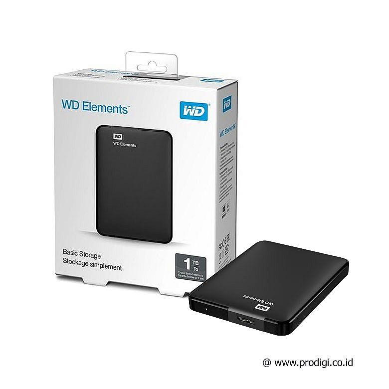 "WD Elements 1Tb 2.5"" USB 3.0"