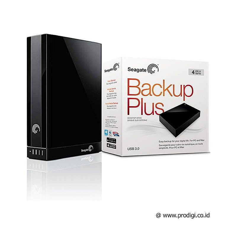 "Seagate Backup Plus 4TB Desktop Ext 3.5"" USB 3.0"