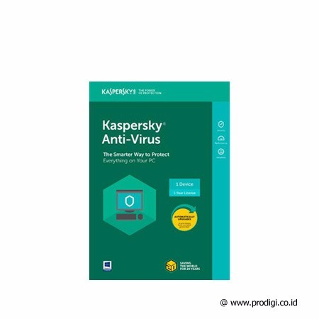 Kaspersky AntiVirus 2018 1 User